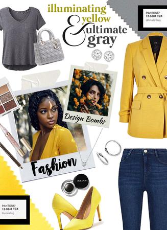 Yellow//Gray