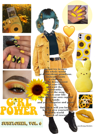 sunflower outfit🌻🌼