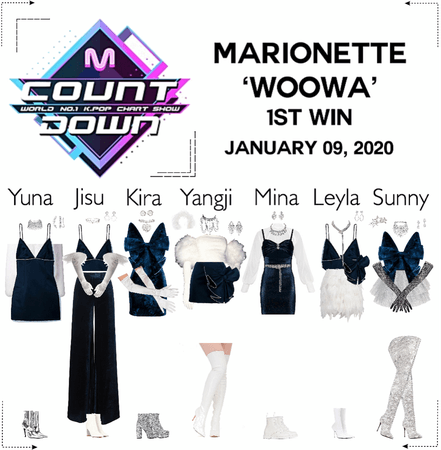 MARIONETTE (마리오네트) [MCountdown] Live 'WOOWA'