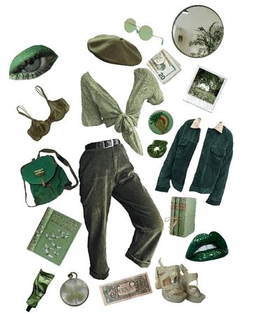 through the ivy