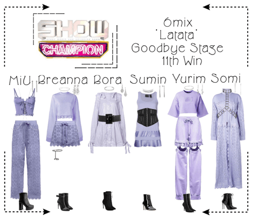 《6mix》Show Champion Goodbye Stage 'Latata'