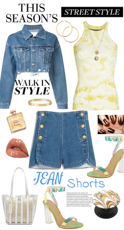 Jean Shorts Style