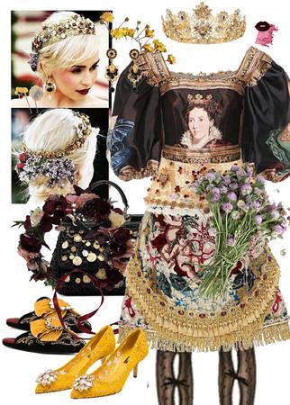 Dolce and Gabbana Emilia Clarke Catholic Met Gala