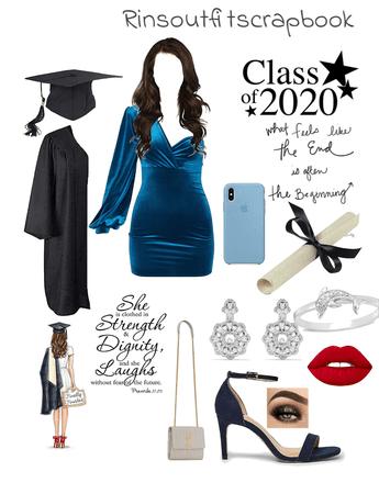 Graduation Challenge 💙🖤
