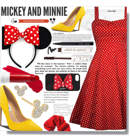 Minnie Mouse inspired.