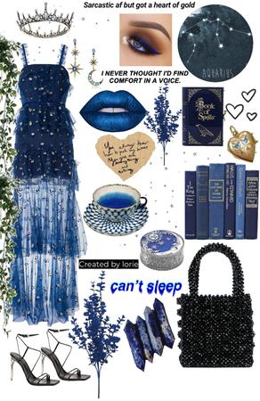 blue aesthetic ( ravenclaw )
