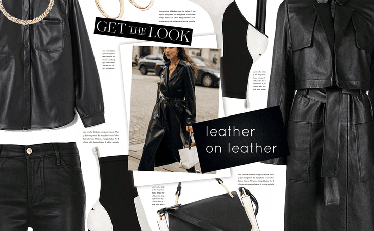 PFW Leather On Leather