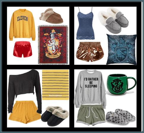 Hogwarts House Pajama Party