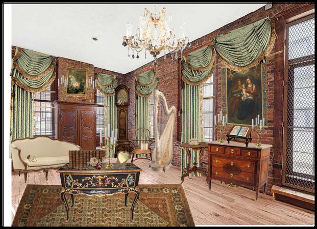 18th Century Parlor Room