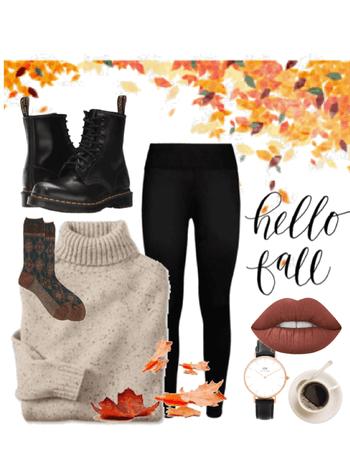 simple autumn look