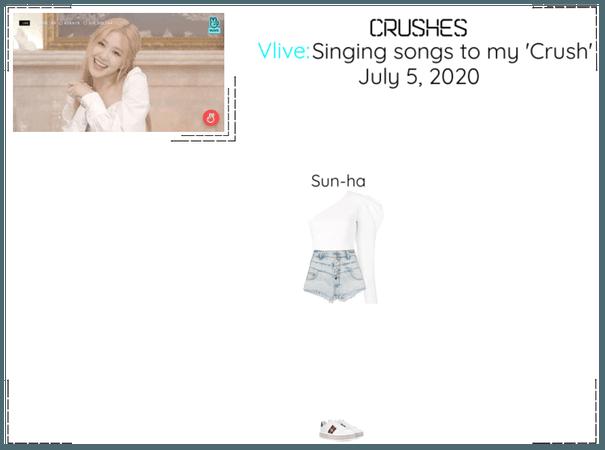 Crushes (호감) Sun-ha Surprise Vlive