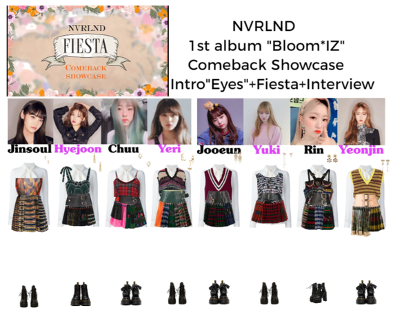 """NVRLND 1st Album """"Bloom*IZ"""" comeback showcase"""