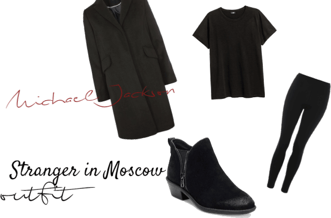 Michael Jackson- Stranger in Moscow outfit