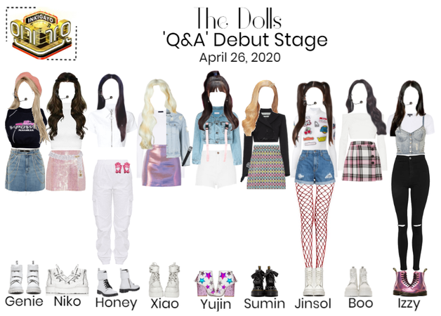 [The Dolls - Q&A] Hot Debut - Inkigayo