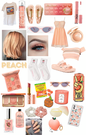 PEACH THINGS! 🍑