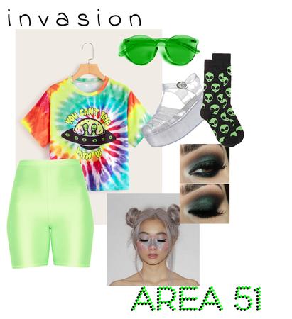 Area 51 invasion