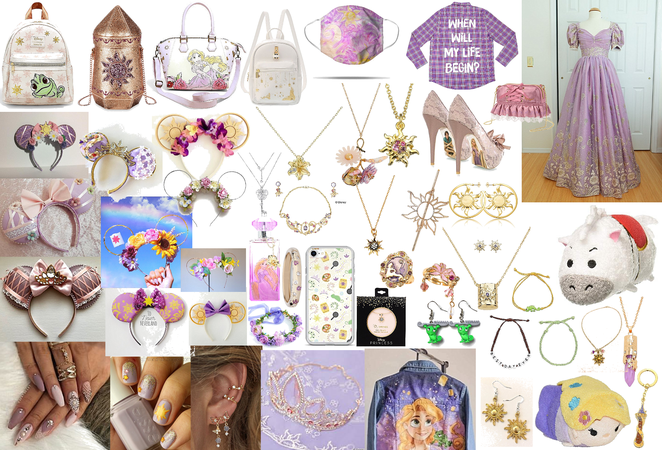 all things rapunzel