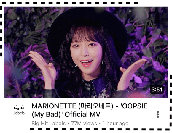 MARIONETTE (마리오네트) 'OOPSIE (My Bad)' Music Video