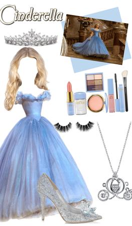 Cinderella inspired look