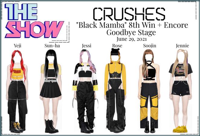 "Crushes (호감) ""Black Mamba"" 8th Win Goodbye Stage"