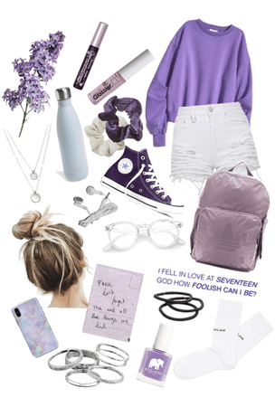 Purple Inspired Look☂️