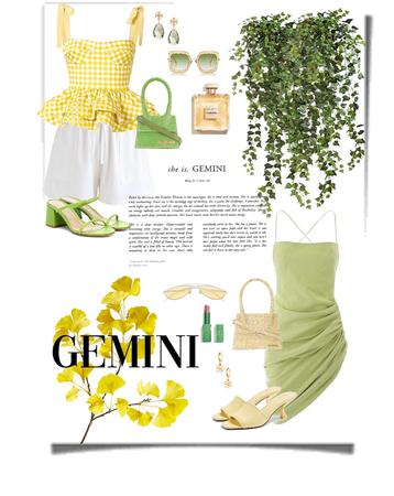 GEMINI '20 (yellow & green)