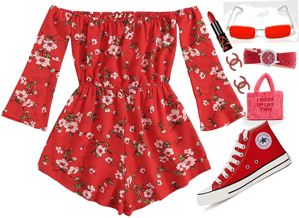 Floral Reds