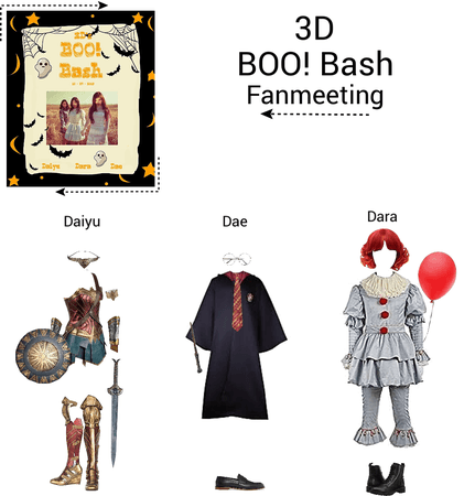 {3D} Halloween BOO! Bash Fanmeet