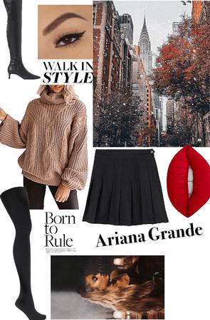 the Ariana Grande look