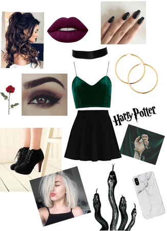 Modern💚Slytherin
