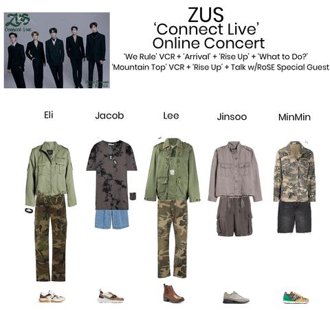 Zus//'Connect Live' Online Concert