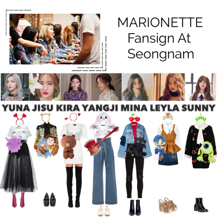 {MARIONETTE} Fansign At Seongnam