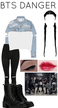 BTS DANGER Outfit 1