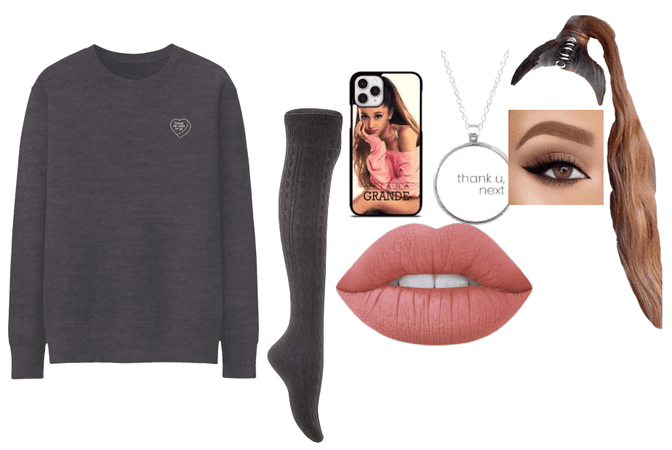 ariana grande stay home outfit