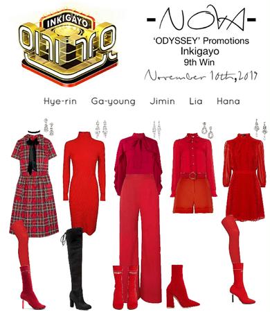 -NOVA- 'ODYSSEY' Inkigayo Stage