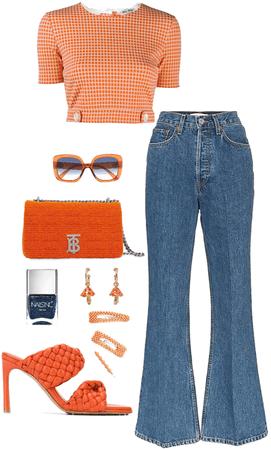 """Orange is the happiest color"" - Frank Sinatra"