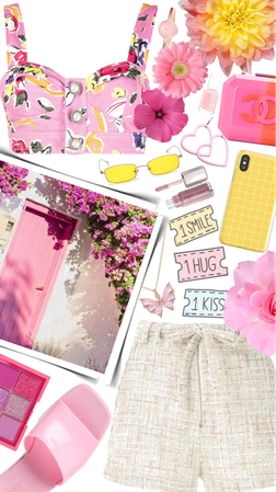 Spring Pink Floral💗