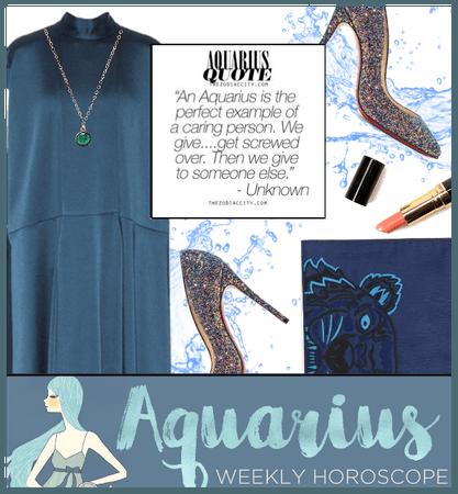 Aquarius: The Water Bearer (Jan 20-Feb 18)