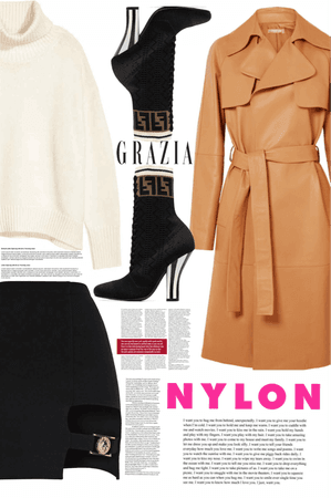 Spring Trench Coat Style