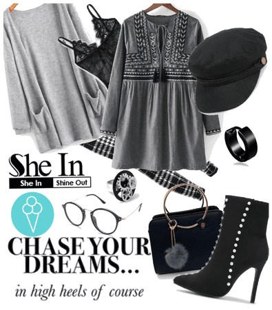 # Chase your dreams # Shoplook # Shein