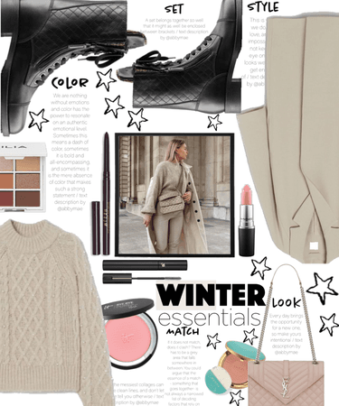 Winter Street Wear in Beige