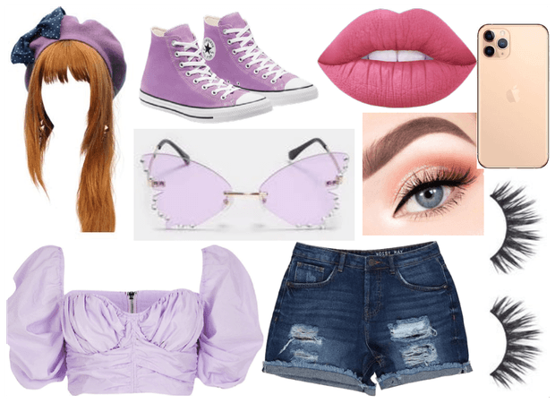 Purple Butterfly Shades