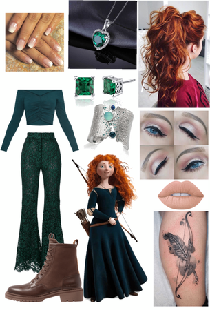 Merida (Brave) Outfit