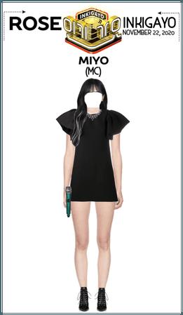 {RoSE} [MC-Miyo] Inkigayo