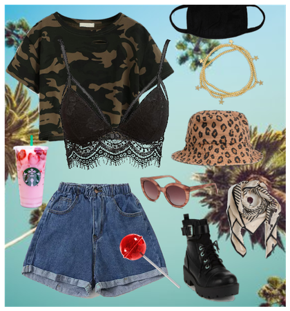 Cold summer outfit