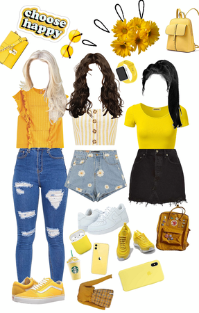 which yellow outfit is better?
