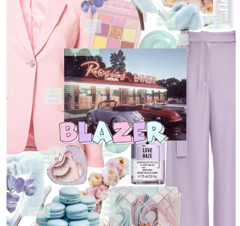 Pastel blazer