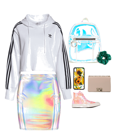 chill holographic style