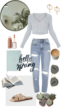 Casual Spring Stay at Home