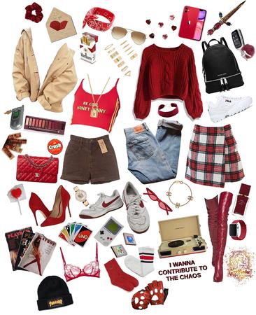 hogwarts fashion: gryffindor